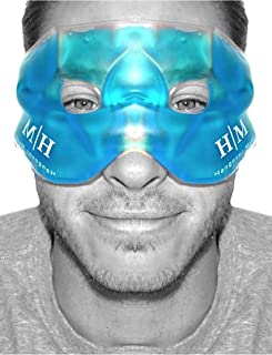 comprar comparacion Máscara de gel reutilizable en frío o en caliente para aliviar la hinchazón de la cara, los ojos cansados, los dolores de ...