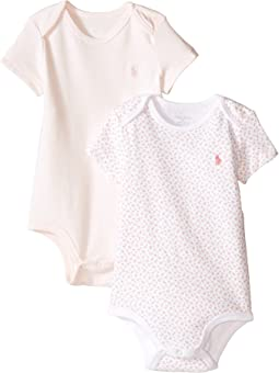 Ralph Lauren Baby - Printed Interlock Bodysuit Two-Piece (Infant)