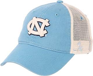 University of North Carolina UNC Tar Heels Blue NC University Top Mesh Trucker Adult Mens/Boys Adjustable Baseball Hat/Cap