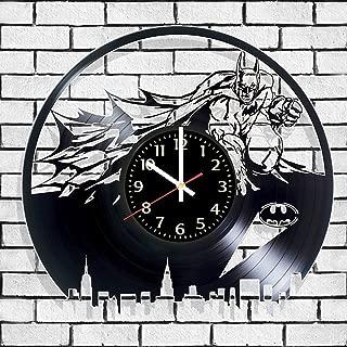 VInyl record wall Clock Batman poster, Batman wall poster, Batman decal, best gift for batmans fans