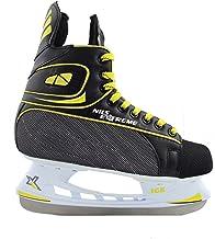 Nils Extreme details over schaatsen hockey ijsloop hockeyschaatsen kunstleer NH8556S
