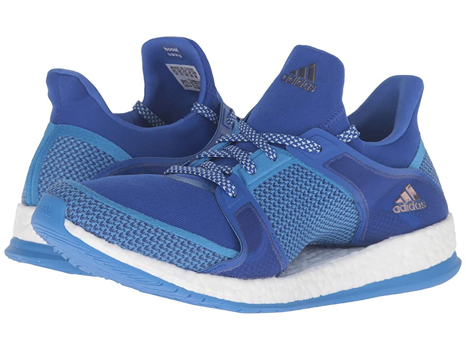 adidas Pure Boost X TR (Bold Blue/Ray Blue/Vapour Green) Women