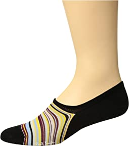 Paul Smith - Multi Stripe No Show Sock