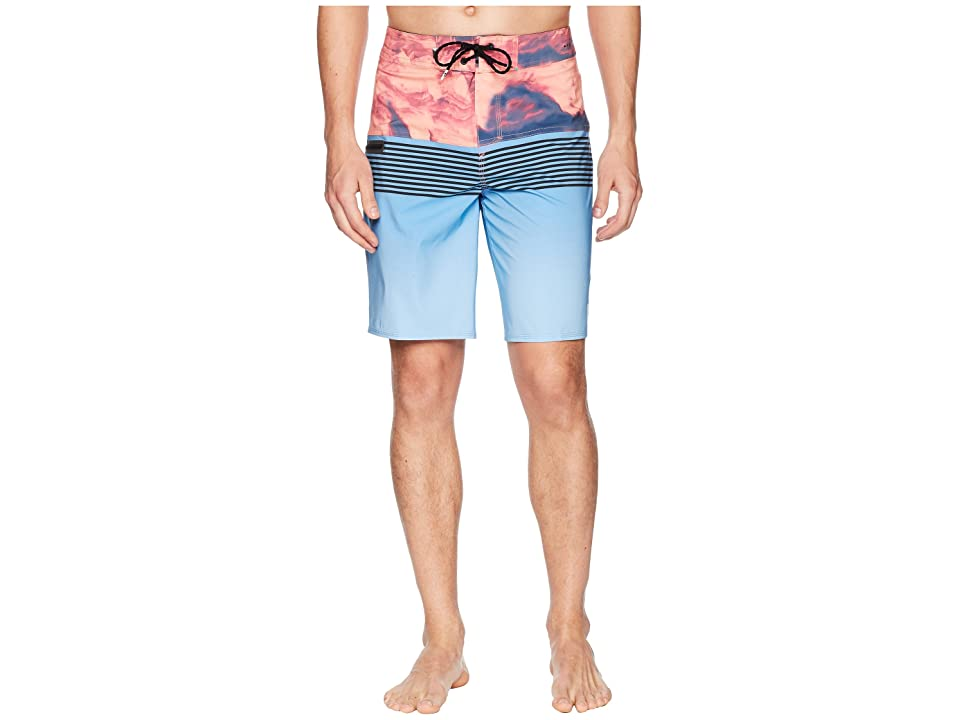 Quiksilver Highline Lava Division 20 Boardshorts (Silver Lake Blue) Men