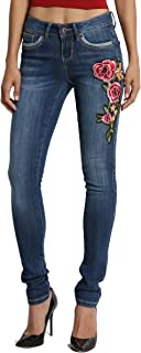 Best jeans with embroidered patches Reviews