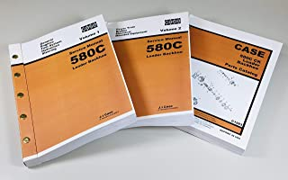 Case 580C Loader Backhoe Service Parts Manuals Repair Shop Tractor Technical Ck