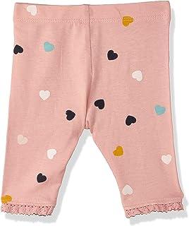 Matalan Crochet-Trim Heart-Pattern Leggings for Girls 18-24 Months