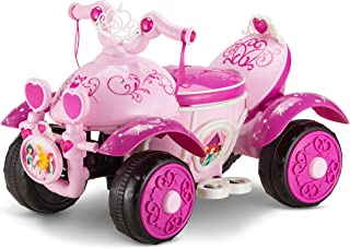 Kid Trax Toddler Disney Princess Electric Quad Ride On Toy, Kids 1.5-3 Years Old, 6 Volt Battery and Charger Included, Max...