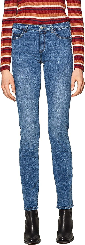 ESPRIT Women's Stretch Jeans bluee