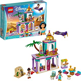 LEGO Disney Aladdin and Jasmine's Palace Adventures 41161 Building Kit, 2019 (193 Pieces)