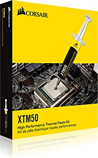 معجون مركب حراري XTM50 للمعالج ووحدة معالجة الرسومات الجرافيكية من كورسير، اداء عالي، مقاومة حرارية منخفضة للغاية، مصنوع م...