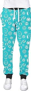 Rainbow Rules Avengers Infinity War Superhero Inspired Cuffed Joggers Sweatpants Jogging Bottoms