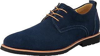 8ed83b1362f12 iLoveSIA Chaussures de Ville Homme Cuir Nubuck Oxfords à Lacets Derbies