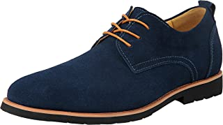 iloveSIA Mens Classic Suede Leather Oxford Shoes G2