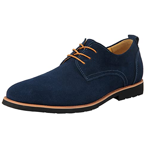1c69b333f iLoveSIA Mens Classic Suede Leather Oxford Shoes G2