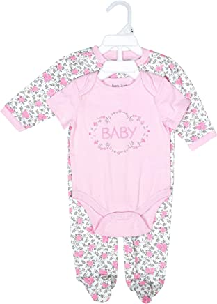 3c7abb80 Harry & Violet Layette Set for Baby Girls; Cute and Lovable Baby Layette