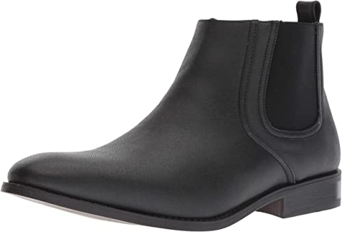 Unlisted by Kenneth Cole Men's N Half Ankle Stiefel, schwarz, 9 M US