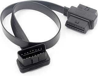 Splitter-Verl/ängerungskabel 60 cm Futheda 2-in-1-OBDII OBD2 16 Pin weiblich auf m/ännlich//weiblich Stecker