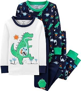 Carter's 男童 4 件套棉 341g280 Green Dino 2T