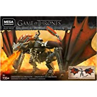 Mega Construx Game of Thrones Daenerys and Drogon (735 Piece)