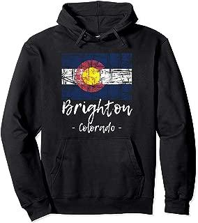 Brighton - Colorado - Hoodie   State Flag Hooded Sweatshirt