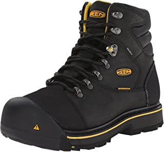 KEEN Utility Mens Milwaukee WP Wide-M Milwaukee Wp-m Black Size: 11