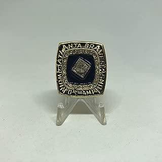 atlanta braves championship ring