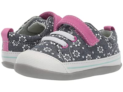 See Kai Run Kids Stevie II (Infant/Toddler) (Chambray Flowers) Girl