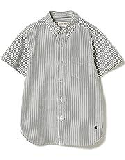 [ビームスボーイ] 半袖シャツ/シアサッカー ストライプ B.Dシャツ レディース