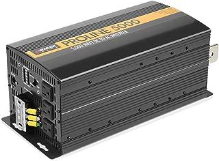 Wagan Black EL3744 12V 5000 Inverter with Remote Control, 10000 Watt Surge Peak Proline Power Converter for Home RV Camping Van Life Off Grid