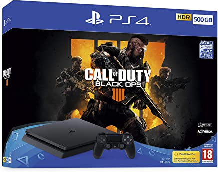 Sony PlayStation 4 500GB with Call of Duty Black Ops 4 (9758716)