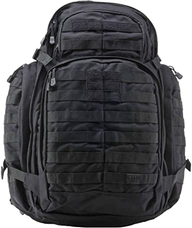 Amazon.com : 5.11 RUSH72 Tactical Backpack, Large, Style 58602, Black : Tactical Backpacks : Sports & Outdoors