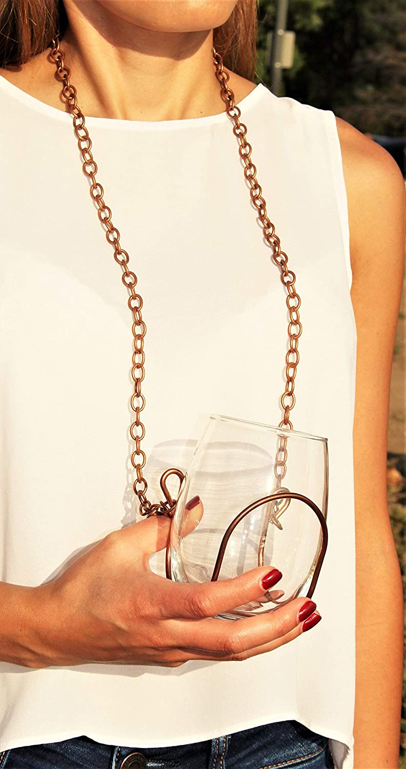 Ranking TOP17 Chain Wine New popularity Necklace Glass