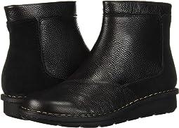 Black Leather/Suede Combi
