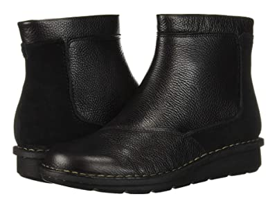 Clarks Michela Petal (Black Leather/Suede Combi) Women