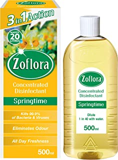 Zoflora, Multipurpose Concentrated Disinfectant, Springtime, 500ml