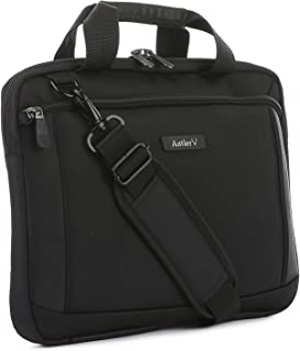 Antler Business 300 Laptop Sleeve Laptop Briefcase, Black, 4172124120