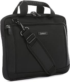 Antler Business 300 Laptop Sleeve Laptop Briefcase, Black, 4172124120