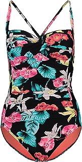 Seafolly Women's Twist Bandeau Halter One Piece Swimsuit