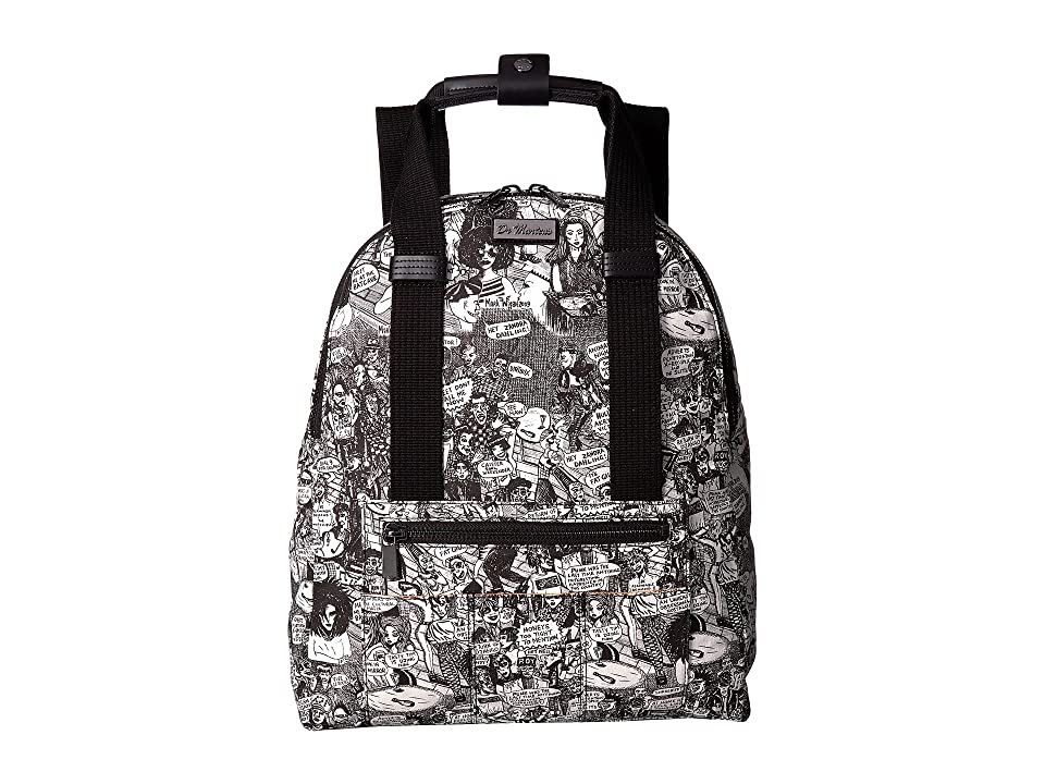 Dr. Martens Fabric Backpack (Party People/Print/Fine Canvas) Backpack Bags