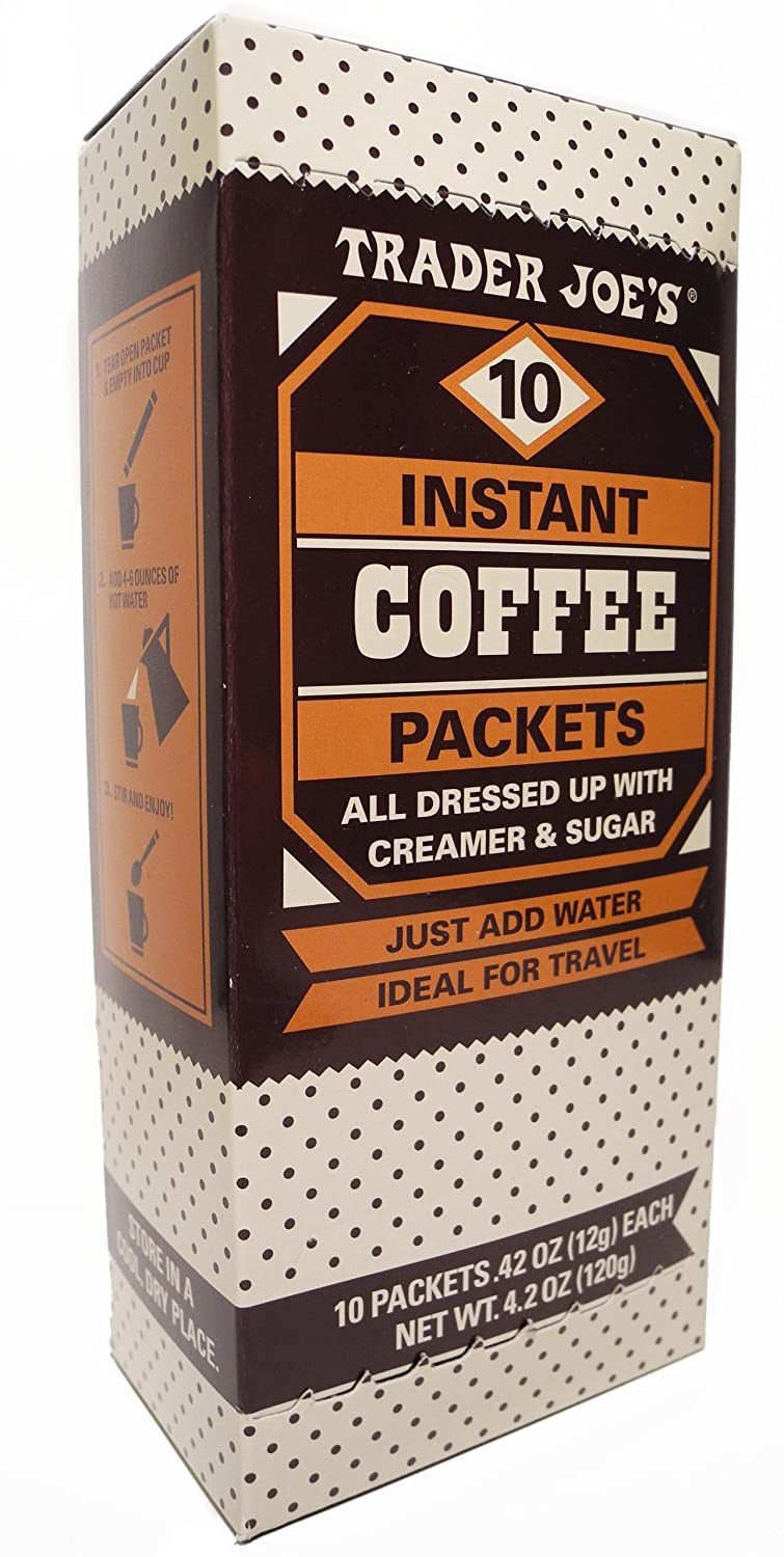 Trader Ranking TOP19 Joe's Instant Coffee Packs Award-winning store Creamer Dressed Up All With