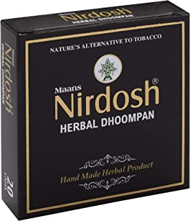 NIRDOSH Herbal No Nicotine & Tobacco Cigarettes[Without Filter] - 10 Packs(20 Cigarettes Per Pack)