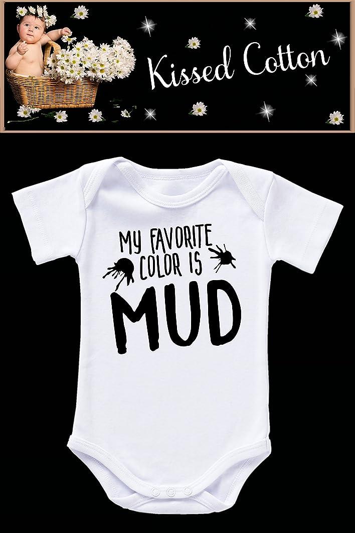 My favorite color is mud baby onesie (KC105)