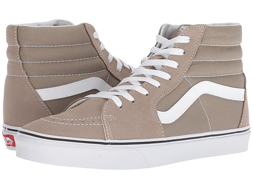 Vans SK8-Hitm (Desert Taupe/True White) Skate Shoes