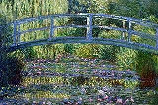Le Pont Japonais a Giverny by Claude Monet Fine Art Print Cool Huge Large Giant Poster Art 36x54