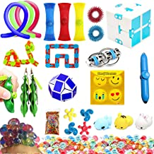 Ultimate Silent Sensory Fidget Toys Classic 23 Pack Works Best With Classroom Relieves Stress and Anxiety Fidget Toy for Children Adults, Special Toys Assortment for Birthday Party Favors, Classroom R