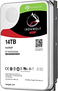 Seagate IronWolf 14TB NAS Internal Hard Drive HDD – 3.5 Inch SATA 6Gb/s 7200 RPM 256MB Cache for RAID Network Attached Sto...
