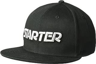 Starter Men's STAR-FIT Flat Brim Cap, Amazon Exclusive