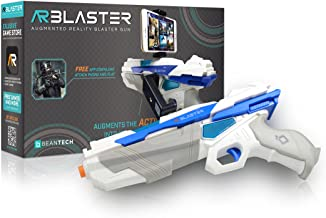 AR Blaster - 360° Augmented Reality Video Game - Smart Phone Toy Gun Controller for iPhone & Android phones - Bluetooth 4.2 - for Boys and Girls, Kid's, Teens and Adults