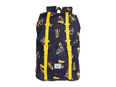 Herschel Supply Co. Kids Retreat Backpack (Little Kids/Big Kids) (Construction Zone) Backpack Bags